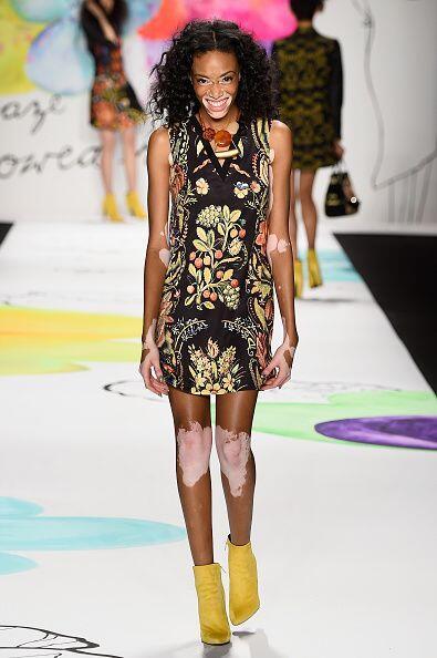 Winnie ha modelado en pasarelas de Toronto y en la semana de la moda de...