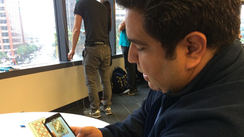 José Luis Nuño muestra cómo funciona Unima, su app de diagnóstico de enf...