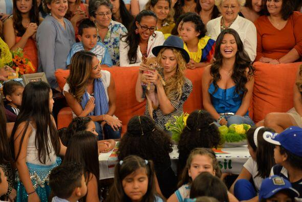Shakira aprovechó muy bien su estadía en Miami.Mira aquí los videos más...