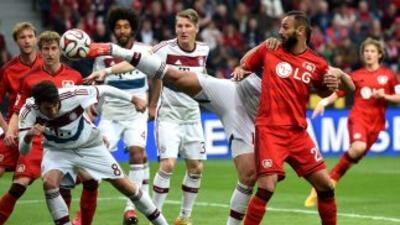 Leverkusen le ganó al Múnich la guerra de los Bayern.