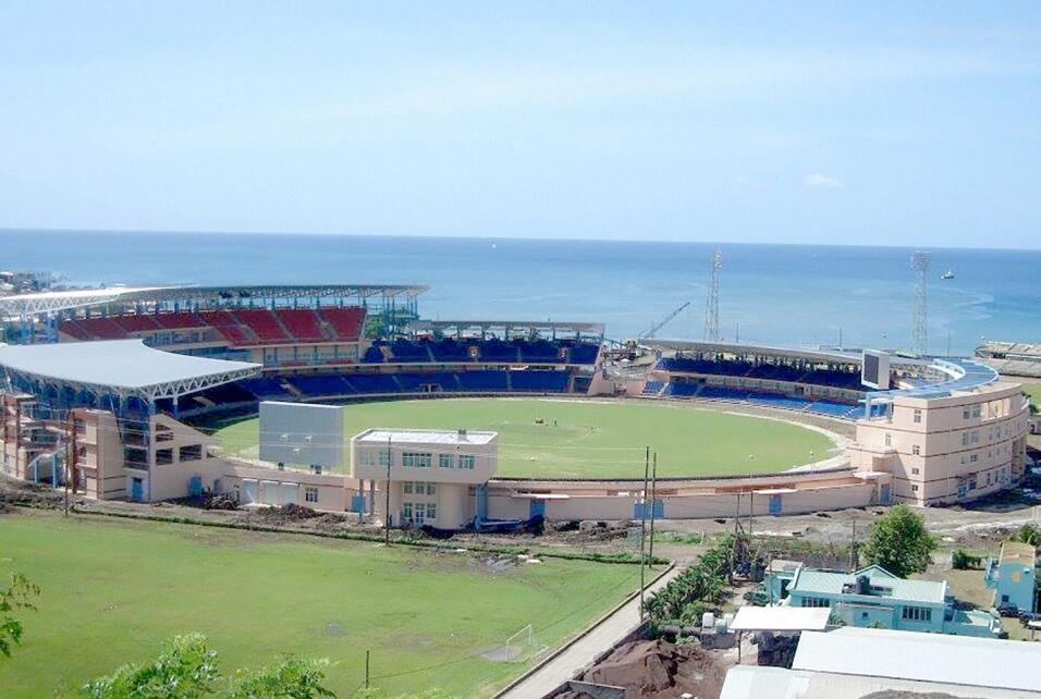 El estadio Queens Park, en Granada, fue financiado con fondos chinos. Ti...