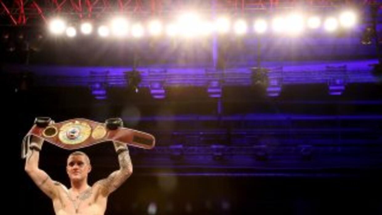 Ricky Burns defiende por cuarta vez el cinturón ligero OMB.