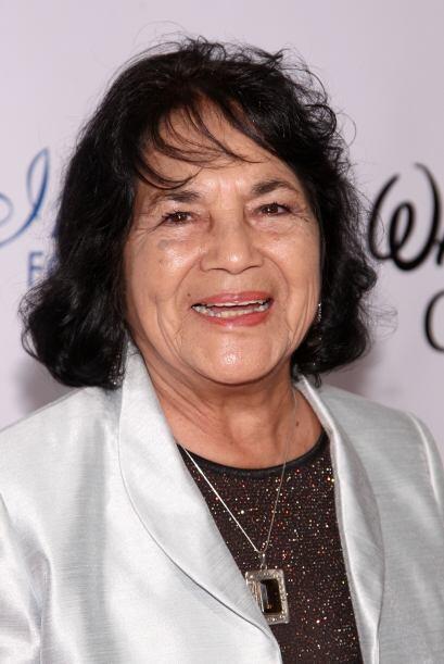 Dolores Huerta ha dedicado toda su vida al activismo a favor de los camp...