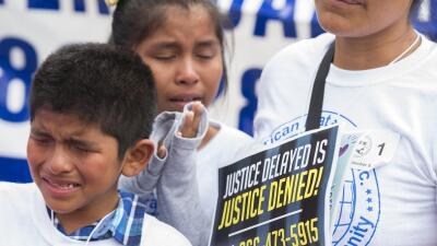 Niños ciudadanos estadounidenses de padres indocumentados.