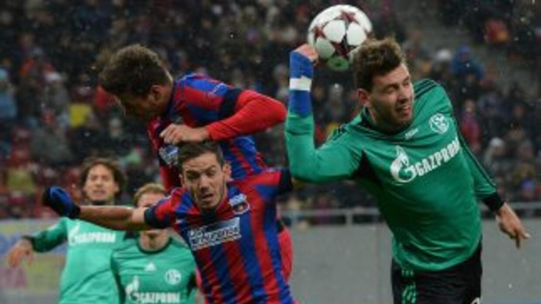 El Schalke resistió los ataques rumanos y dejó al Steaua sin opciones de...