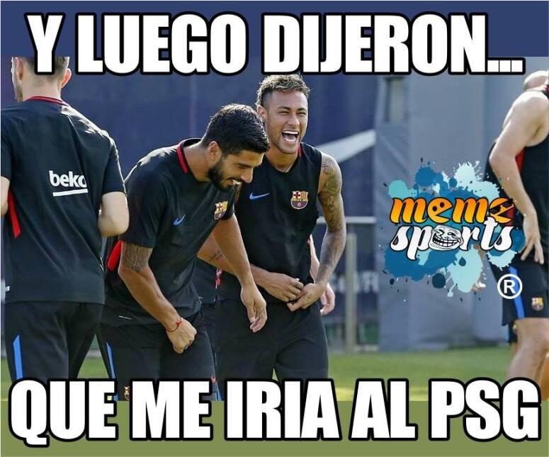 En memes: Neymar se inclina por los millones del PSG 20139590_1947482458...