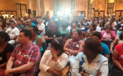 Cientos de inmigrantes recibieron ayuda en la Biblioteca Pública de NYC.