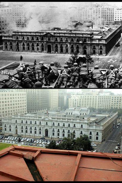 De profundas convicciones, Allende decidió resistir en el Palacio a las...
