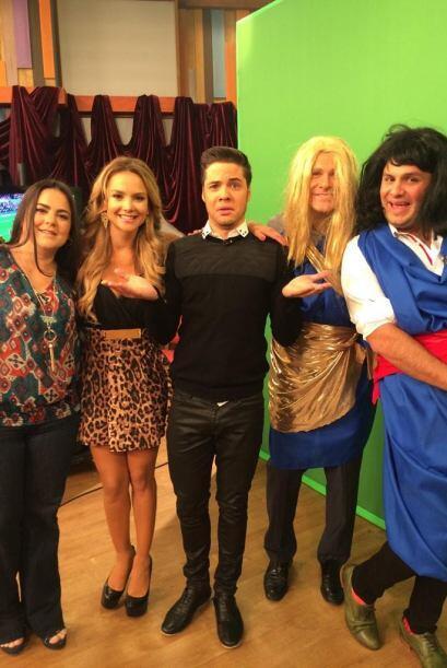 """Las #XimenaCordobas en @DespiertaAmeric Competencia @alantacher @ximena..."