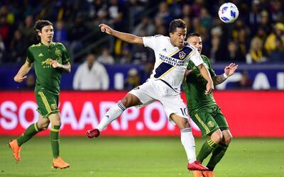 Giovani dos Santos LA Galaxy vs. Portland Timbers
