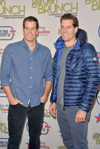 Le siguen en la lista los gemelos Tyler y Cameron Winklevoss. Mira aquí...