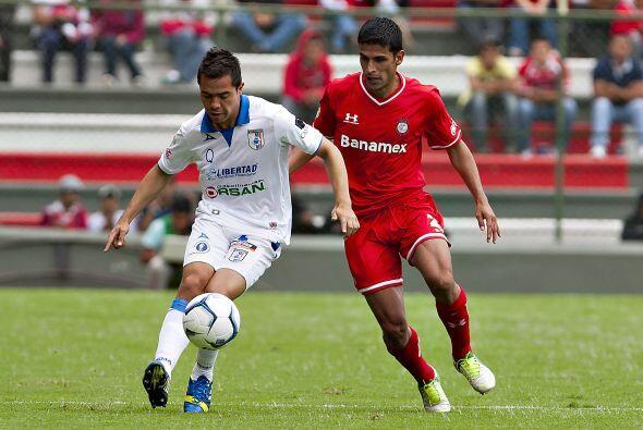 """-Querétaro perdió 3 """" 0 en Toluca en partido amistoso. Los Gallos Blanco..."""