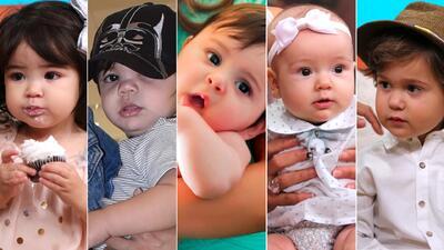 En fotos: conoce a los hijos de las estrellas de Univision