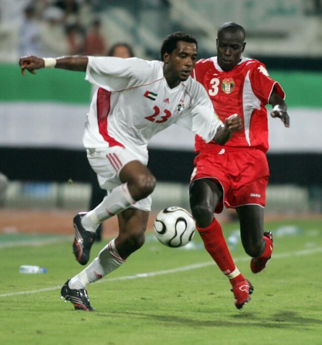 Salem Saad, de los Emiratos Árabes, murió durante un entrenamiento con e...