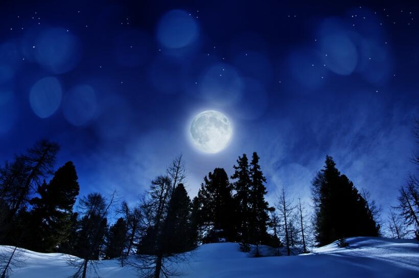 Primer eclipse de luna
