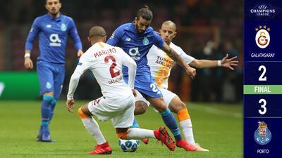El Porto venció al Galatasaray y se apoderó del Grupo D de la Champions League