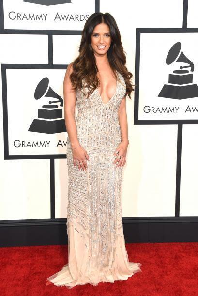 Los escotes fueron protagonistas en los Grammy. Rocsi Diaz nos dej&oacut...