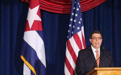 El gobierno cubano reacciona frente al anuncio hecho por Trump sobre la...