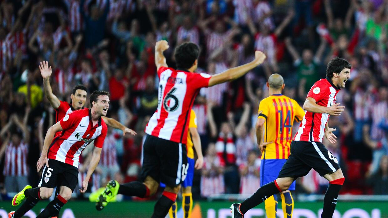 El Athletic Club le puso un baile a la defensa del Barcelona