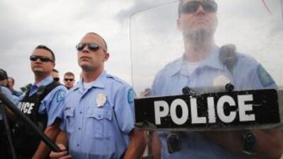 Agentes del Departamento de Policía de Ferguson, Missouri.