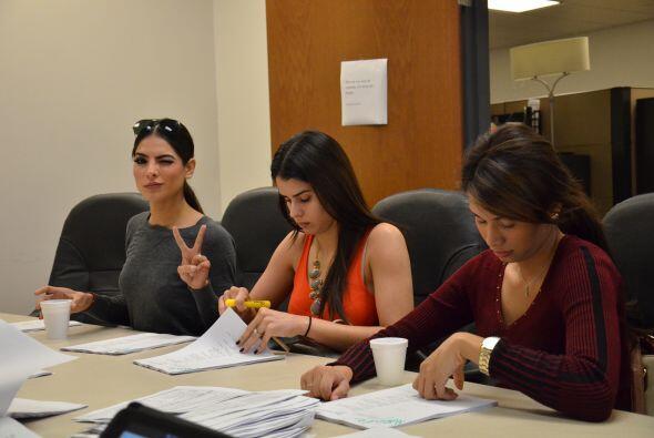 El buen humor de Alejandra Espinoza siempre presente en las reuniones de...