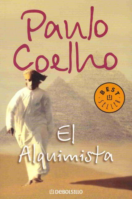 """""""El alquimista"""", de Paulo Coelho, es su libro favorito."""