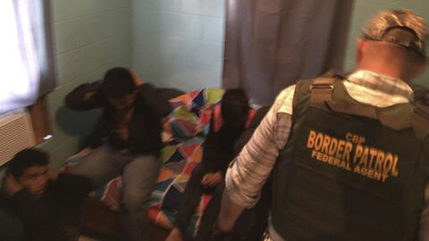 La Agencia de Aduanas y Seguridad Fronteriza (CBP) informó del ha...