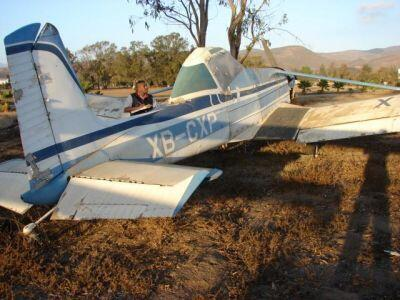 Buscan comprador para esta aeronave tipo Cessna A-188. (Foto: Cortesía SAE)