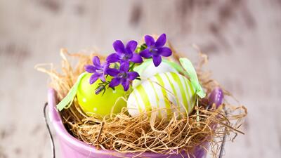 Ideas fáciles y divertidas para la decoración de Pascua