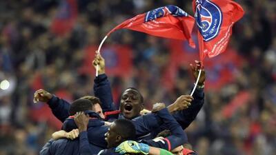 El PSG se llevó la Copa de la Liga Francesa.