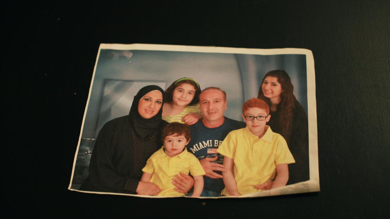 De las pocos fotos que conserva la familia de sus días en Arabia Saudita