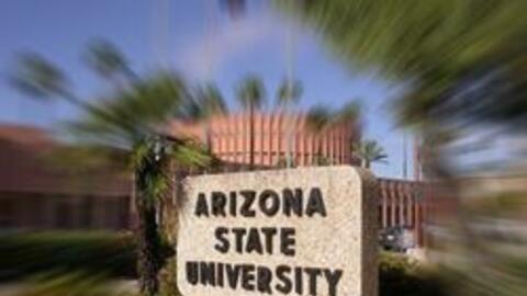 El campus de la universidad estatal de Arizona en Tempe