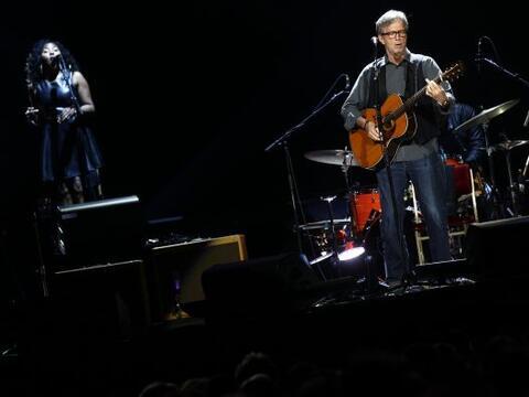 Clapton regresó al Valle del Sol para su gira ´Crossroads G...