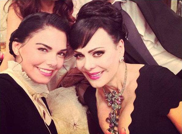 Livia Brito y Maribel Guardia en 'Muchacha italiana viene a casarse'