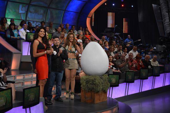 Nuestro concursante se fue encantado del programa con todo el dinero que...