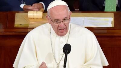 Papa Francisco: Estados Unidos sigue siendo para muchos la tierra de los...