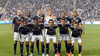 Philadelphia Union usando uniforme en honor al Bethlehem Steel FC