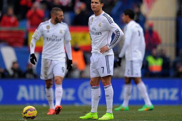 El Real Madrid parecía otro, un equipo descolorido, sin garra, ni fútbol...