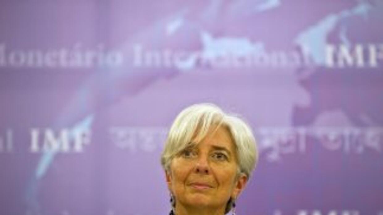 Christine Lagarde busca una mayor aportación de las naciones ante los nu...