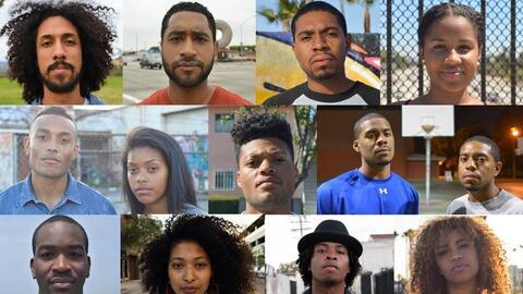 Proyecto visual sobre los 'Blaxicans' en Los Ángeles.
