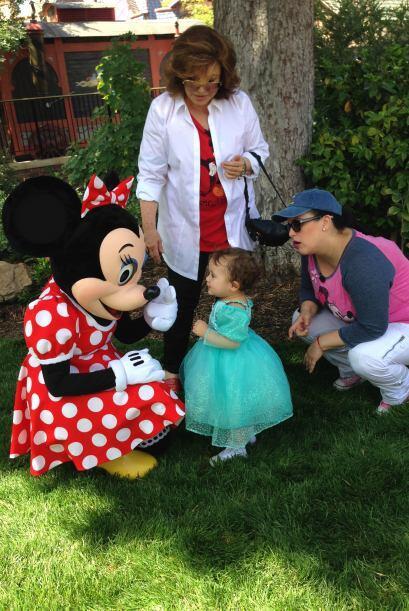 Angélica Vale contó que la pequeña es fanática de Minnie Mouse, ¡y pudim...