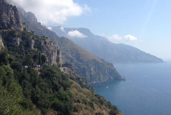 Recorriendo la costa Amalfitana. ¡Un paisaje que nos deja sin aliento!