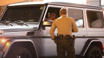 En imágenes: así fue el accidente automovilístico de Justin Bieber