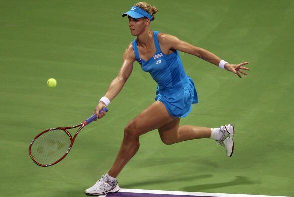 La rusa Elena Dementieva sucumbió en su primer partido del Masters de Do...