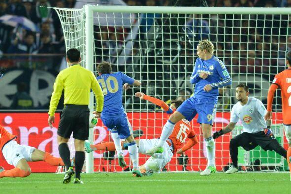 En semifinales les toco un hueso duro, el Chelsea de Rafa Benítez...