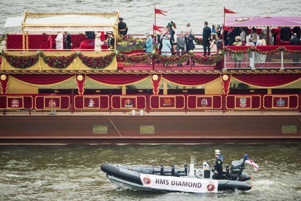 $16 MILLONES-  Fue el costo del recorrido de cientos de embarcaciones po...