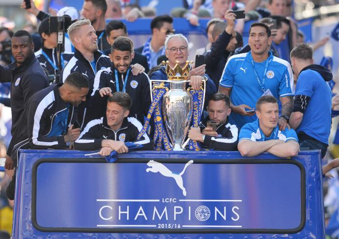 8. Leicester City (2015/2016): 'The Foxes' lograron su primer tí...