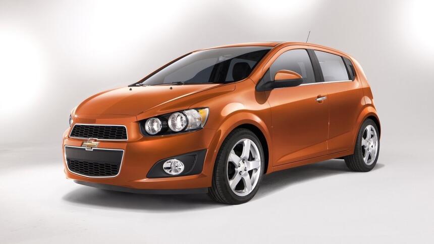 Estos son los autos más confiables de Estados Unidos Chevrolet-Sonic-201...
