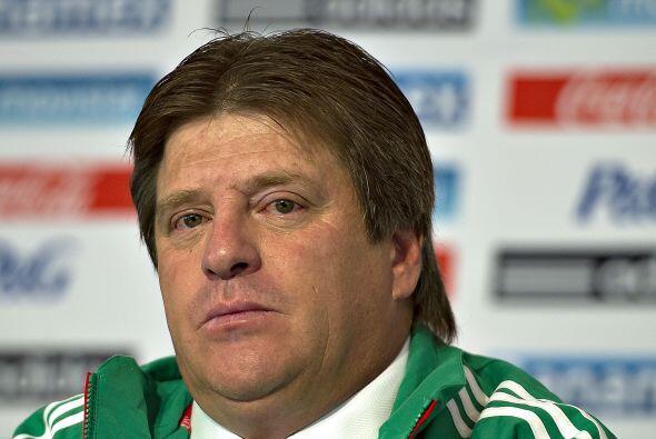 """Una barrida que marcó la estancia del """"Piojo"""" con la selección mexicana,..."""