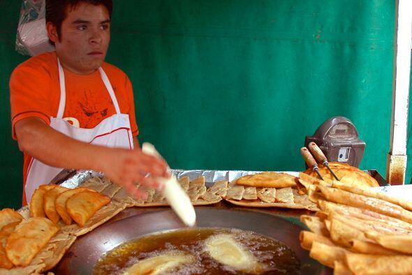 Las quesadillas son parte de la alimentación mexicana en todo lo ancho y...